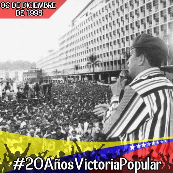 #20AñosVictoriaPopular Photo
