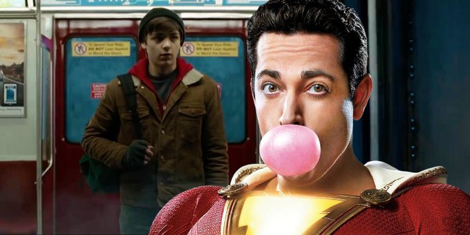 Shazam gets a colorful poster at #CCXP18 Check it out here ➡️ Photo