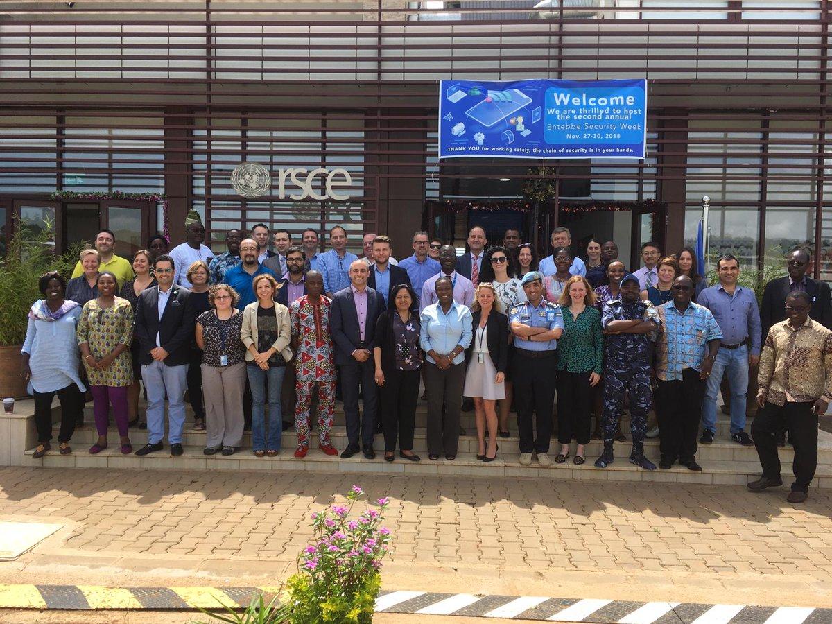 Excellent #GFP Workshop in Entebbe coming to an end.... Nous sommes ensemble: #DPKO, #OROLSI, #UNDP,  #UNHCR, #UNWomen, #OHCHR, #UNODC, #JCSC, #SPC, #ROL4Peace https://t.co/pfkcvOiDZY