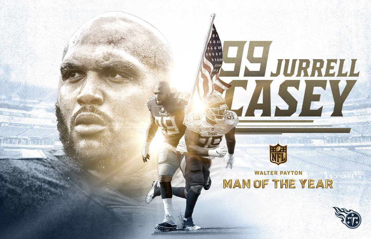 Tennessee Titans's photo on Walter Payton Man of the Year