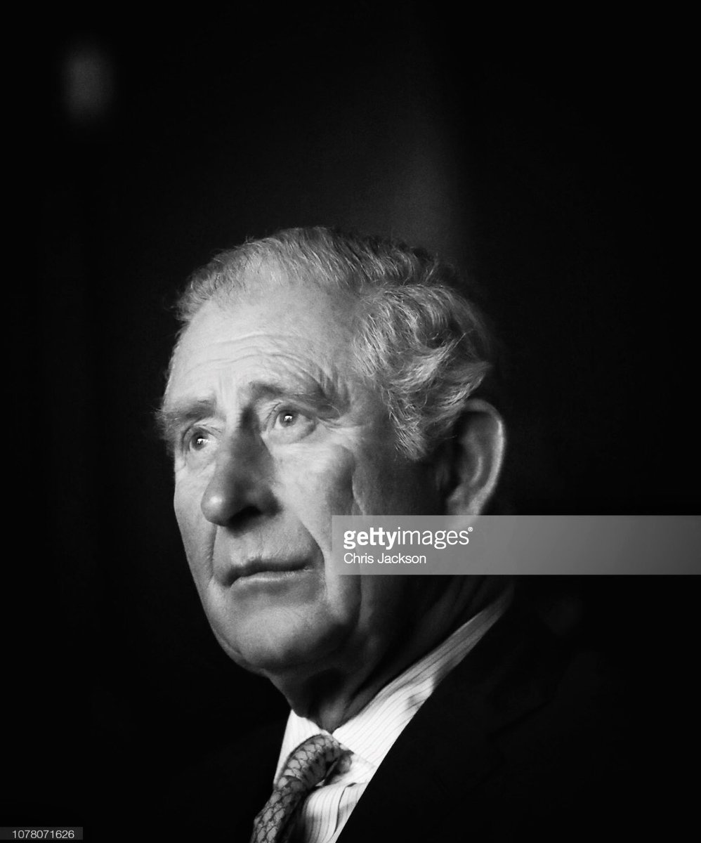 The Prince of Wales was on good form during a visit to the @BFI today despite coming straight from Washington after attending yesterday's Funeral of George HW Bush