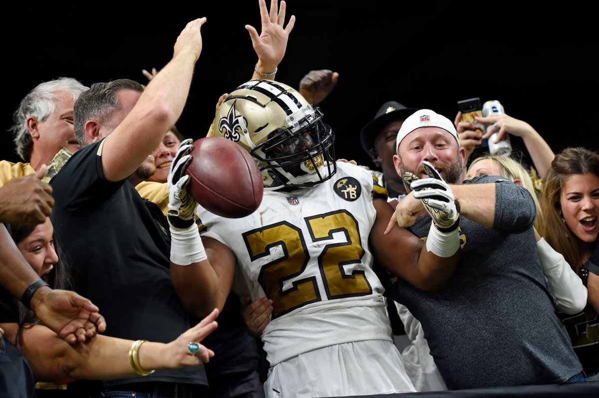 New Orleans Saints's photo on Walter Payton Man of the Year