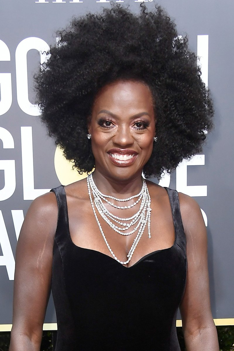 #TBT to @ViolaDavis' glorious afro from the  the 2018 Golden Globes. 😍https://t.co/exASjjZFuC