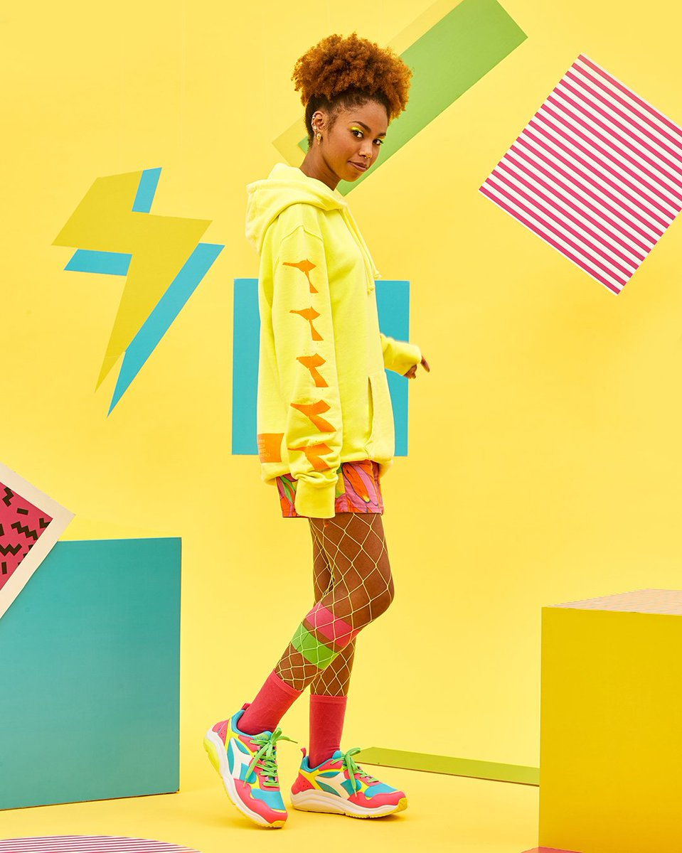Whizz Run Fluo: colors