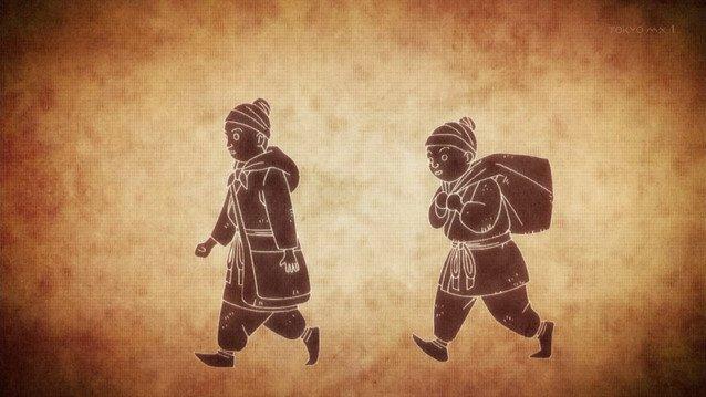 昔々あるところに兄弟がいました #karakuri_anime https://t.co/OOJEez98SG