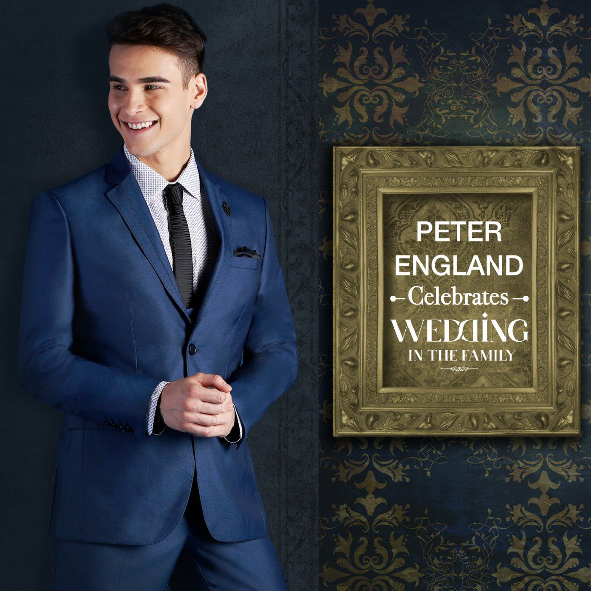 Man At The Wedding Presenting An Exclusive Range Of Suits Blazers By Peter England Suitupwithpeterengland Weddingwear Indianwedding Indiangroom
