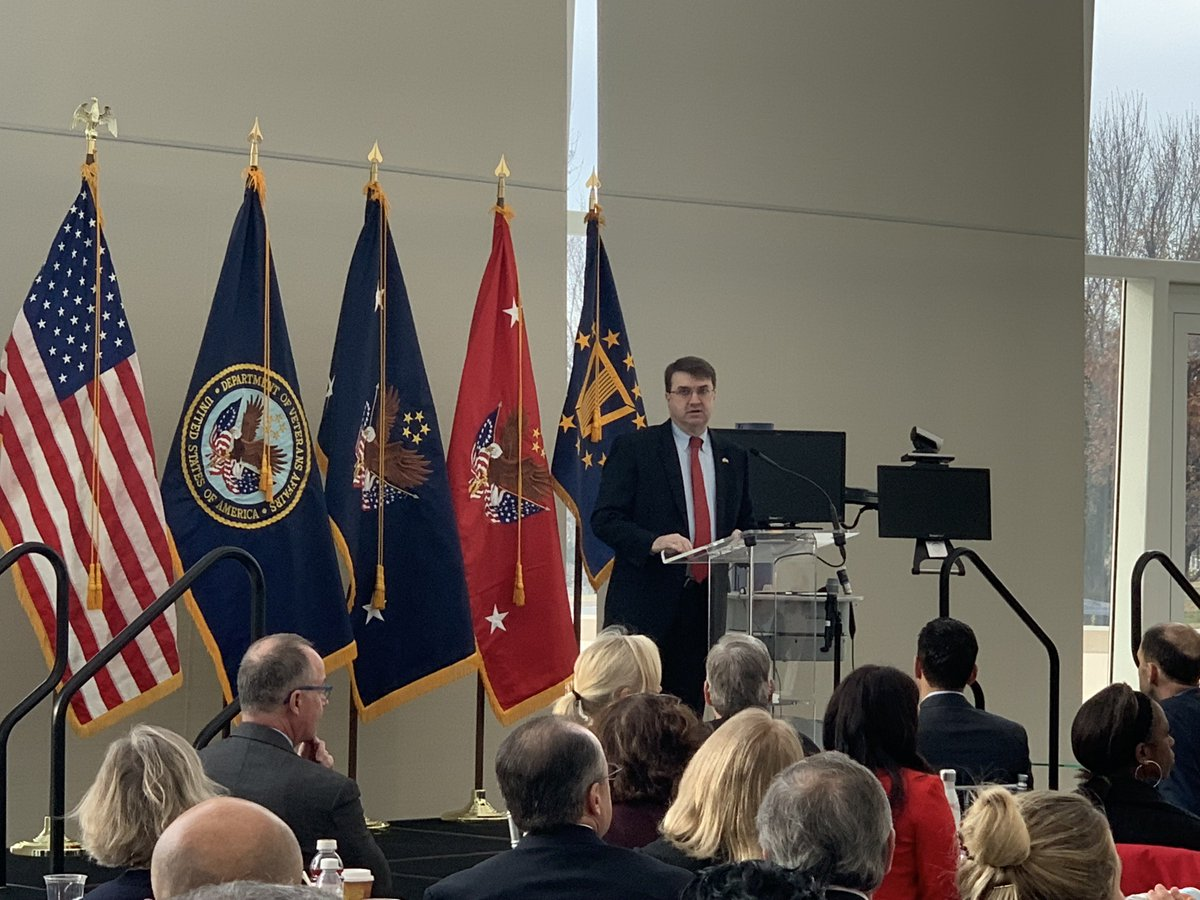 Telehealth is the latest invention in a line of VA's technological advancements not just for Veterans but for all Americans says @SecWilkie #A2ATelehealth <br>http://pic.twitter.com/tHerY9lDOY