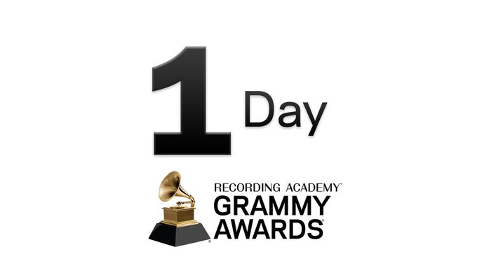 TOMORROW 🎶 Find out who will be nominated for the 61st #GRAMMYs! Foto