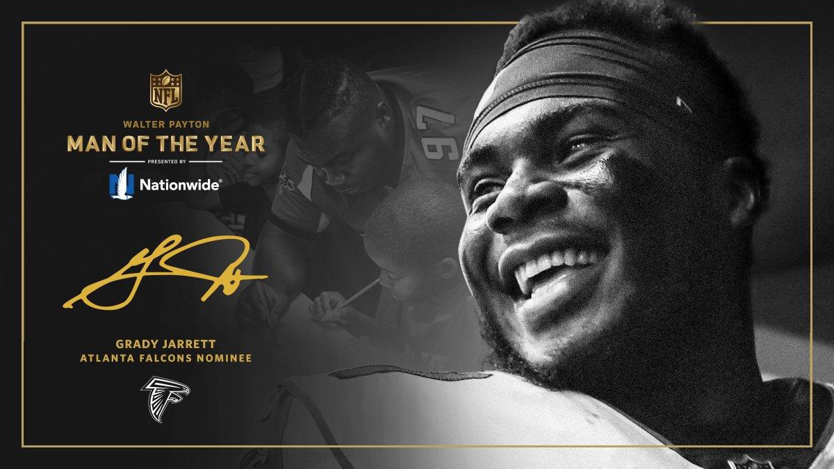Atlanta Falcons's photo on Walter Payton Man of the Year