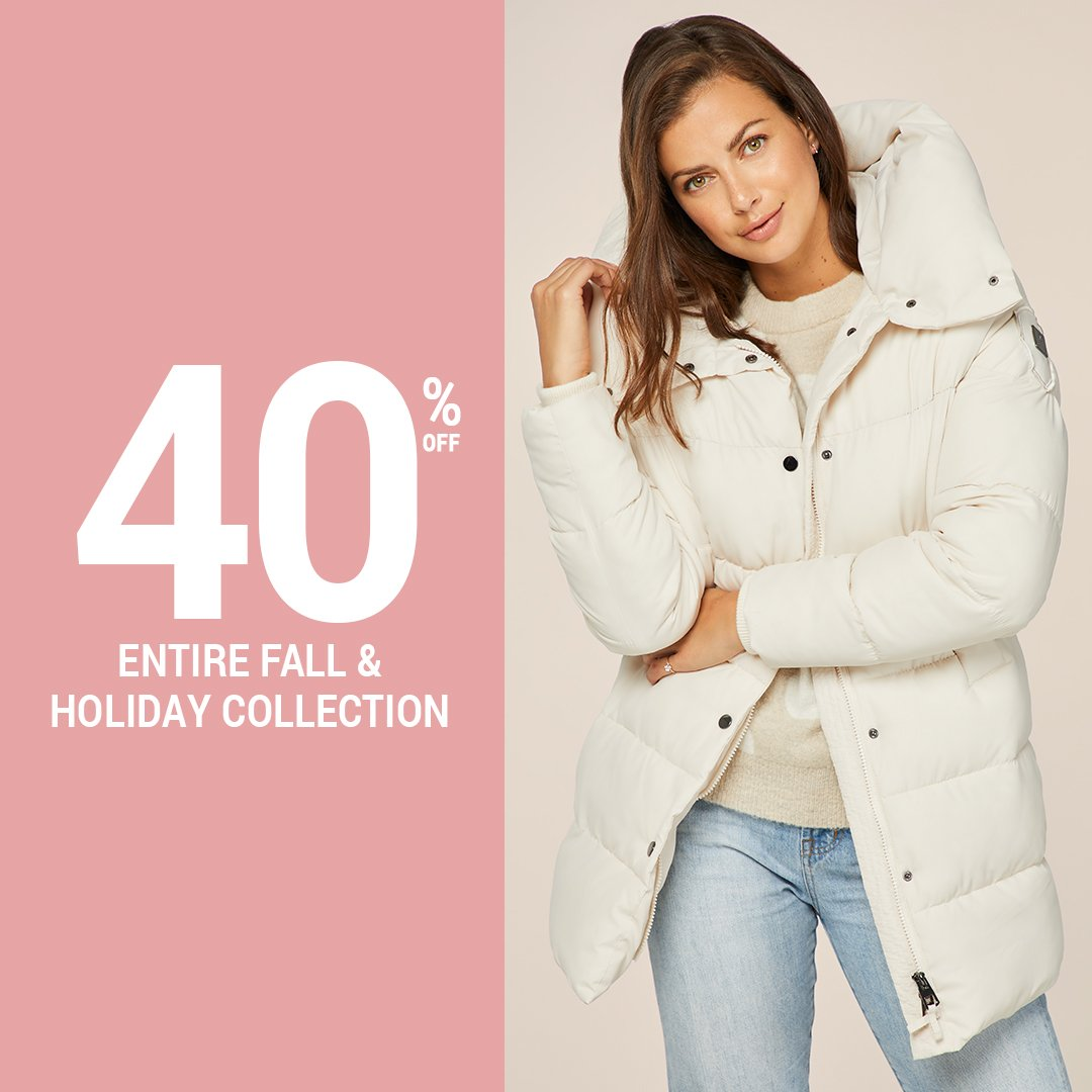 cc23fb257ca81 Enjoy 40% off our entire fall holiday collection for two days only. Online  and in-stores for a limited time. Shop Now http   ow.ly RDkq50jS1a6 ...