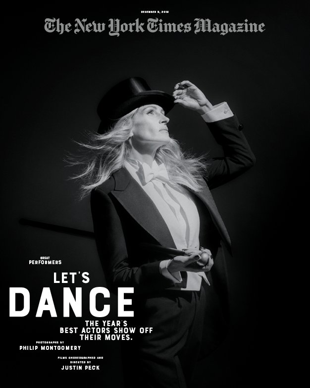Every year we choose the standout actors of the year's films to star in a series of short films. Welcome to this year's Great Performers Issue. Let's dance: http://nytimes.com/letsdance