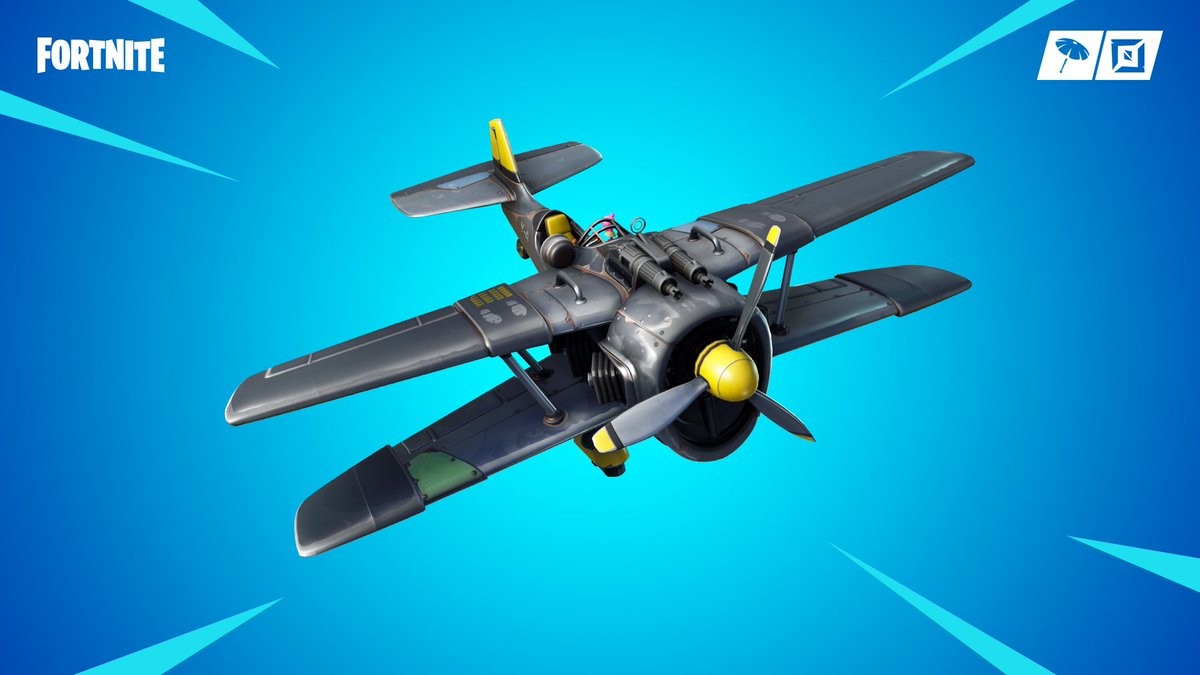 Take to the skies with the new X-4 Stormwing! Available now in #BattleRoyale.