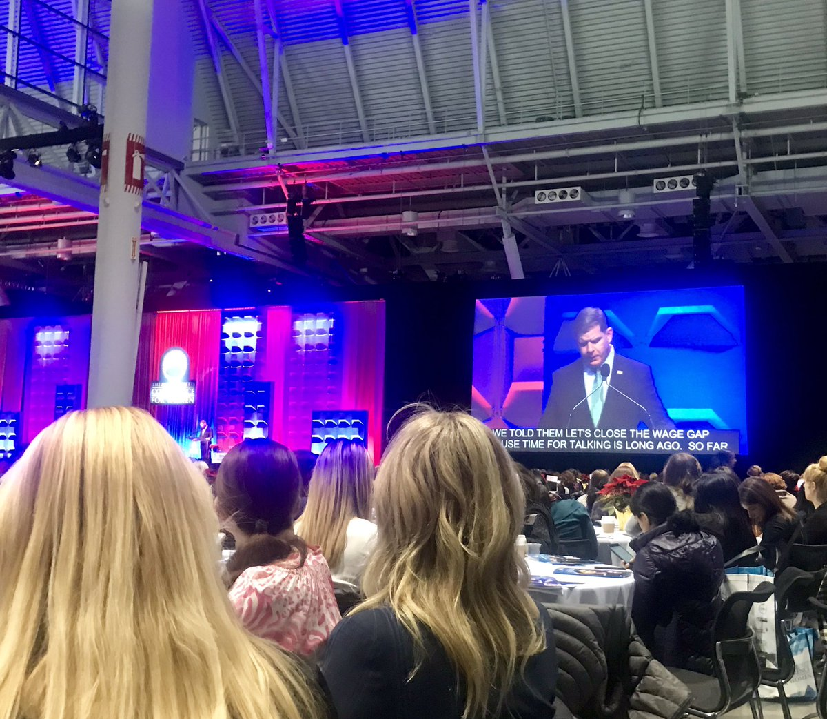 """When women succeed, Massachusetts succeeds. This is about opportunity and equal rights, and about who we are as a community."" - @marty_walsh #MassWomen <br>http://pic.twitter.com/ypYKJFeZpR"