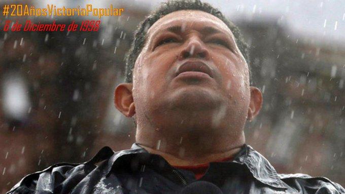 Buen día mi pueblo revolucionario de Aragua. Celebremos hoy #20AñosVictoriaPopular con la llegada a la presidencia de nuestro querido gigante Hugo Chávez. aquel genio que un #4F despertó en los corazones de los pueblos de Latinoamérica el grito de libertad y soberanía. @dcabellor Photo
