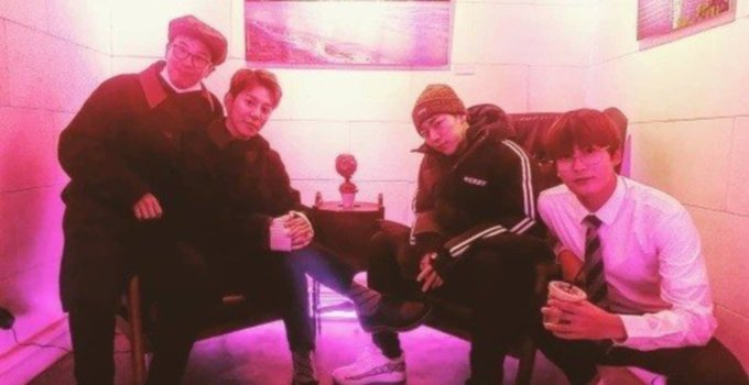 Zico meets up with the Block B members after departure from group Photo