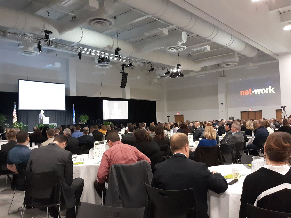 Underway now #nnsummit18 w/welcome from @cityofappleton mayor Tim Hanna. So pleased to be hosted in @DwtnAppleton at Fox Cities Exhibition Center<br>http://pic.twitter.com/wM7tL5Rj9J