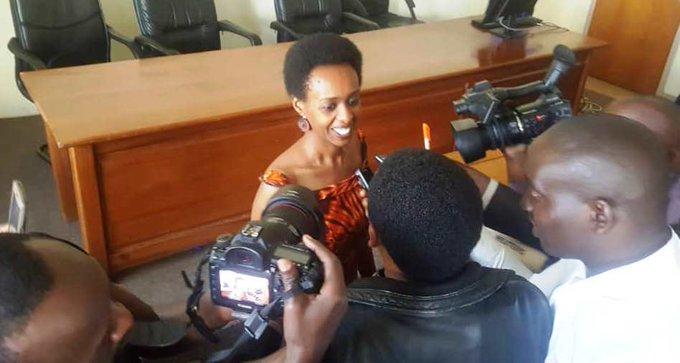 """Diane Rwigara ati """"ndakomeza ibyonatangiye"""" Photo"""