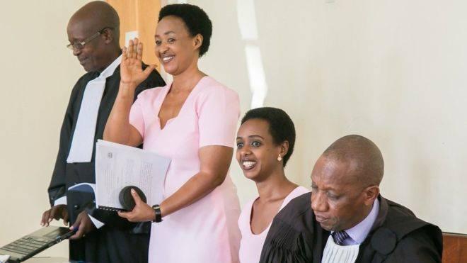 Mahakama Kuu nchini Rwanda imemuachia kwa dhamana mwanasiasa wa upinzani Diane Rwigara na mama yake waliokuwa wakikabiliwa na kesi ya uchochezi pamoja na kughushi nyaraka. Photo