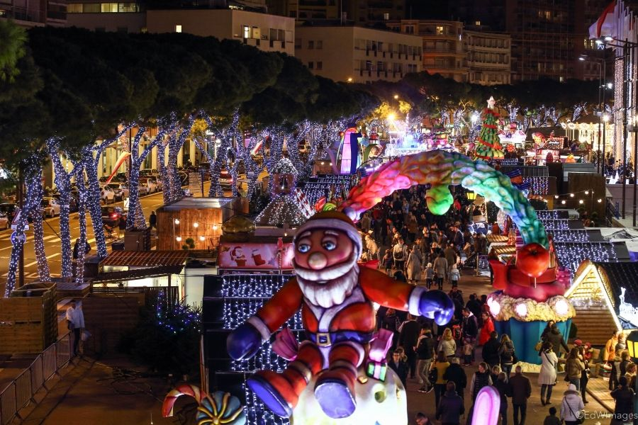 "What are your plans for this #weekend? Check out Monaco's Christmas Village, under the theme of ""New Orleans"""