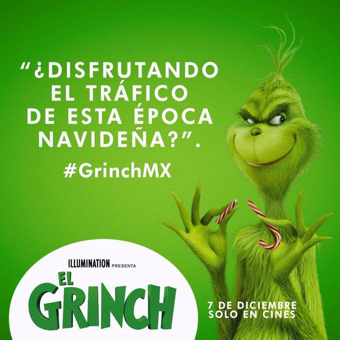 Ya despertó tu lado #Grinch ??? Espérate al 7 de Foto