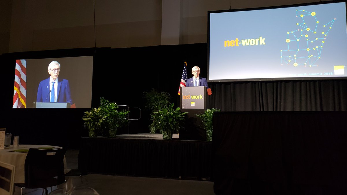 Honored to have Gov.-elect Tony Evers as a keynote at the #nnsummit18 <br>http://pic.twitter.com/kyJgUe2Jfk