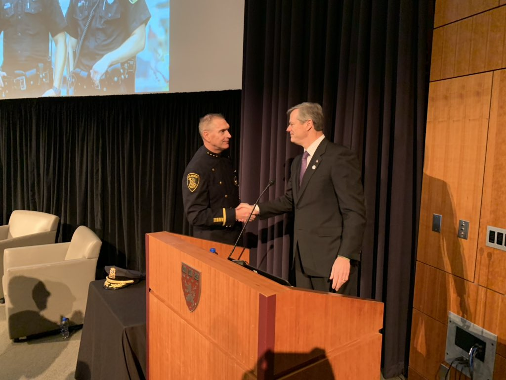 """Baker to #PAARISummit2018: """"If you need our help, you're going to get it."""" @MassGovernor<br>http://pic.twitter.com/1Z8jmyBuim"""
