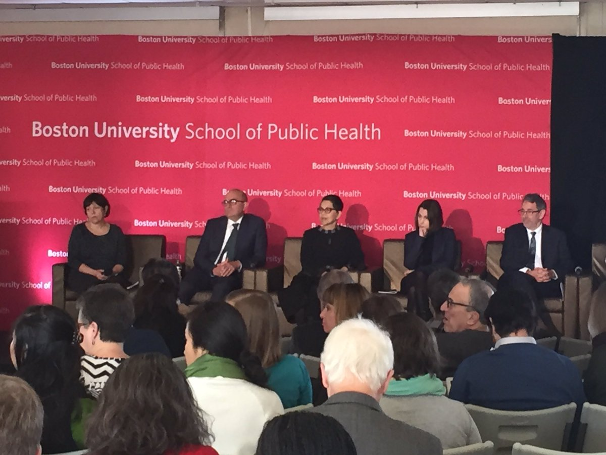 Urban Health: State of the Science conference off to a great start at @BUSPH. Excited to cohost as @BUonCities alongside @YaleNursing, and moderate the closing session on the past, present and future of cities! #BUSPHSymposia <br>http://pic.twitter.com/PnT4Gfdniv
