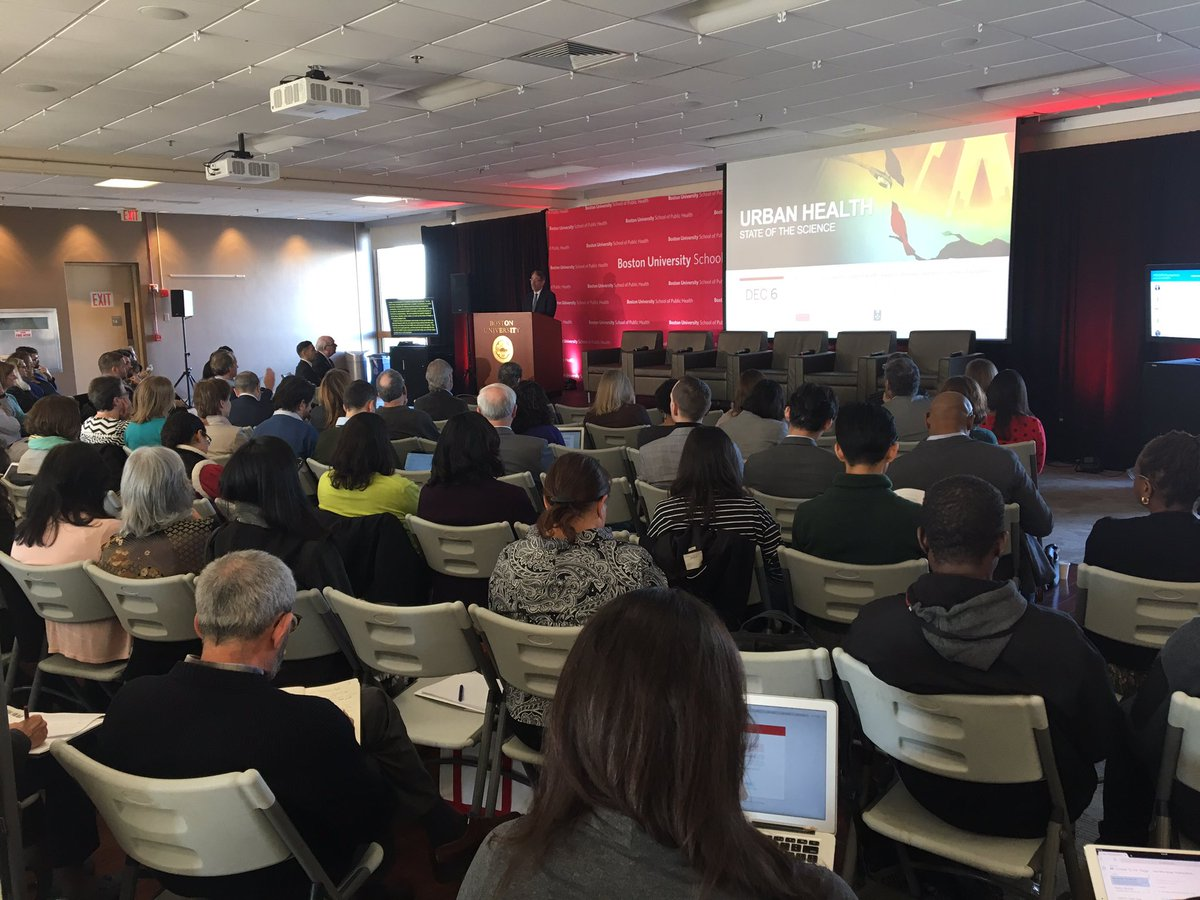 """""""The key levers of #publichealth are increasingly legislative and regulatory."""" @VitalStrat Senior Vice President for Environmental Health @DanielKass1 on the role of health departments in creating healthy cities. #BUSPHSymposia <br>http://pic.twitter.com/PZuIkyh8D8"""