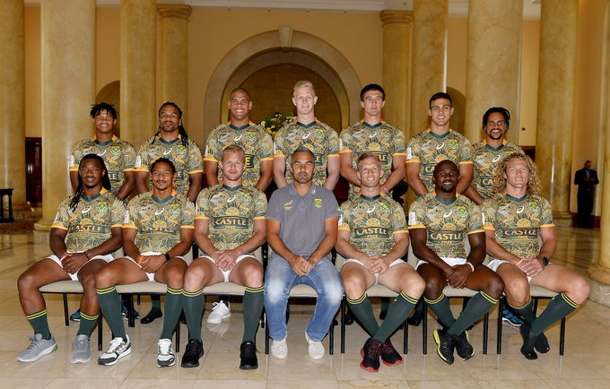 PHOTO: The @Blitzboks squad for the #CapeTown7s. Preview: Event info: Photo