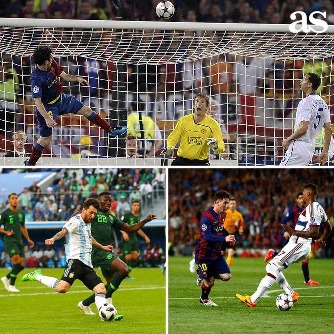 🤔 Pele: Messi solo tiene un regate, dispara con una pierna y no cabecea bien Foto