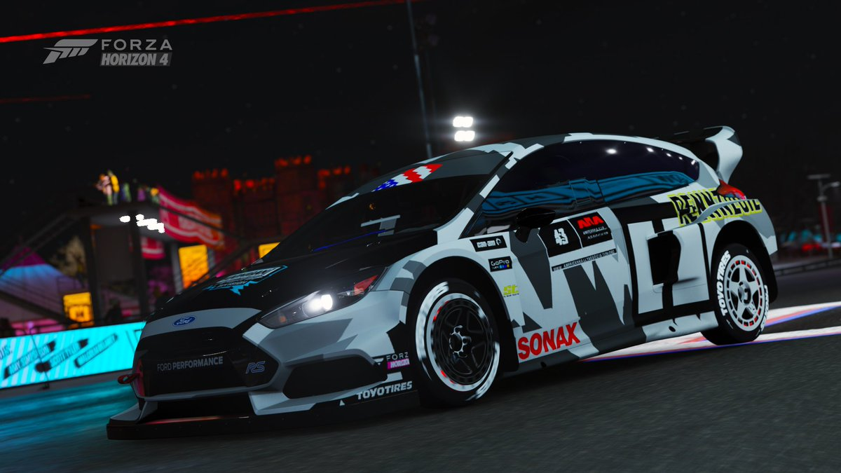 Henry On Twitter Lets Keep This Paint Game Rolling Now Shared On The New 2016 Hoonigan Gymkhana 10 Ford Focus Rs Rx Forzahorizon4 Hoonigan Https T Co N5puoo0pus