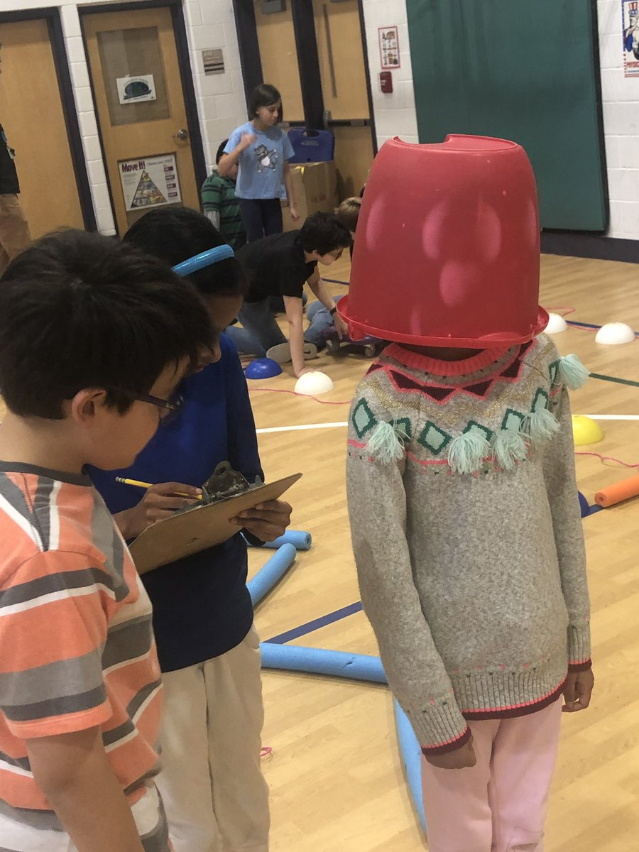 """P.E. coding lesson! Students work in groups to create a course that they code a """"robot"""" through. <a target='_blank' href='http://search.twitter.com/search?q=APSCodes'><a target='_blank' href='https://twitter.com/hashtag/APSCodes?src=hash'>#APSCodes</a></a> <a target='_blank' href='http://search.twitter.com/search?q=HourofCode'><a target='_blank' href='https://twitter.com/hashtag/HourofCode?src=hash'>#HourofCode</a></a> <a target='_blank' href='https://t.co/YXJkpc6Iok'>https://t.co/YXJkpc6Iok</a>"""