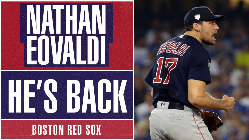 MLB's photo on Nathan Eovaldi