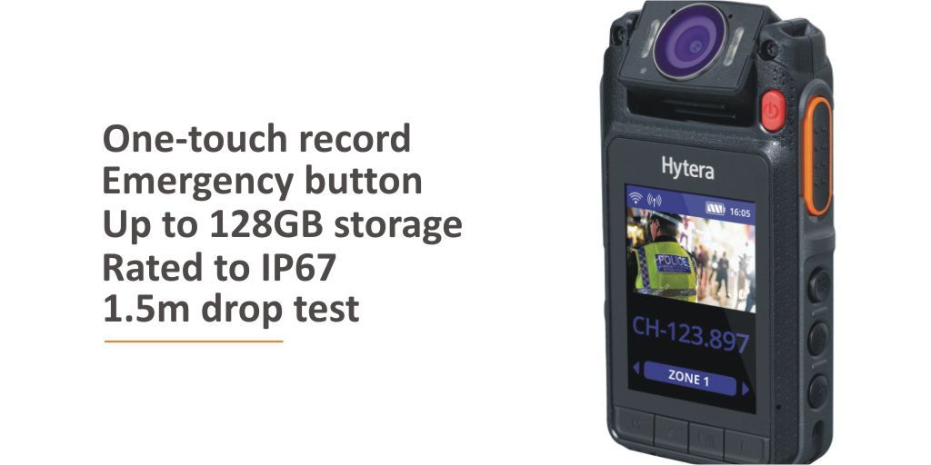 Keep your #loneworkers protected with the @Hytera_UK IP67 VM685 Remote Video Mic. Learn more here https://t.co/yeTxGfAjj9    #hyteravm685 #bodyworncamera #security #bodycam #loneworking