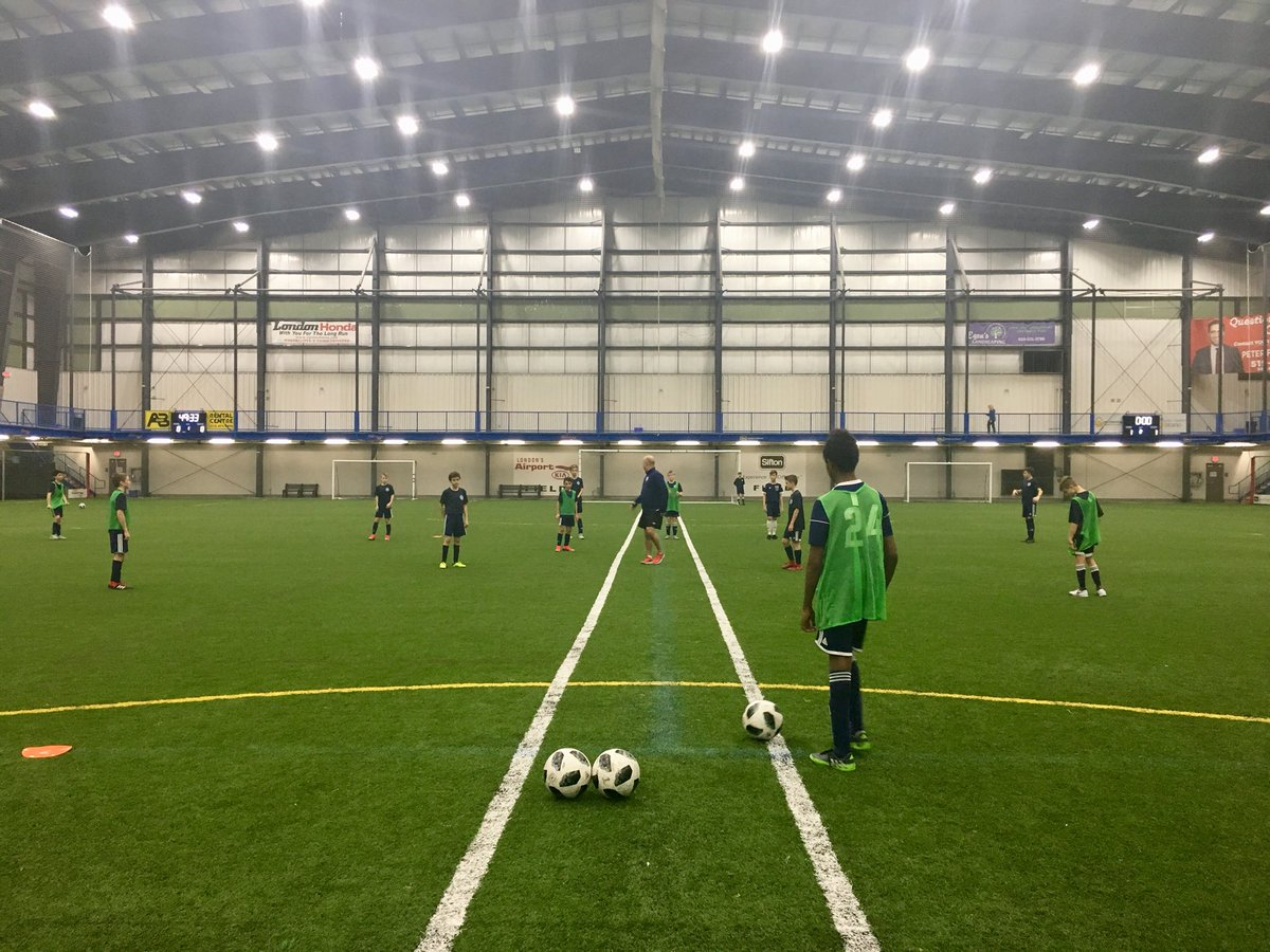 #whitecapslondon 2006 #OPDL Boys and Girls had a great session  yesterday working on Improving on building out of the back! 👍🏼  Is it season yet?   @WhitecapsYouth #lndont @londonwhitecaps #playerdevelopment – at BMO Centre