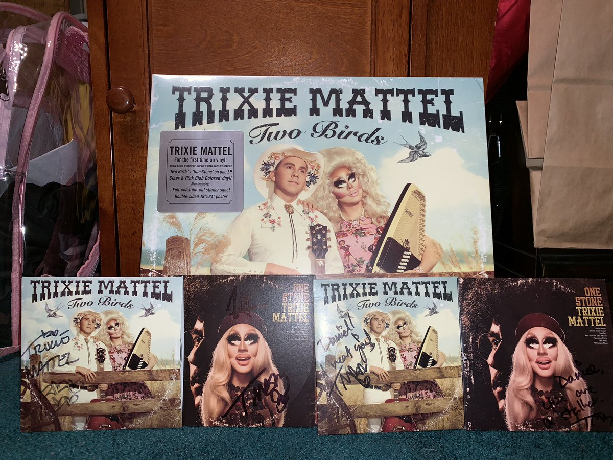 This is playing in each room of my house now. @trixiemattel #twobirdsonestone