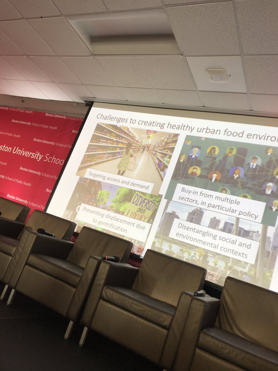 When a Whole Foods opens,  housing costs rise and people are displaced #unintendedconsequences ? @DrMonicaWang @BUSPH #BUSPHSymposia <br>http://pic.twitter.com/SeaTE1LQwL