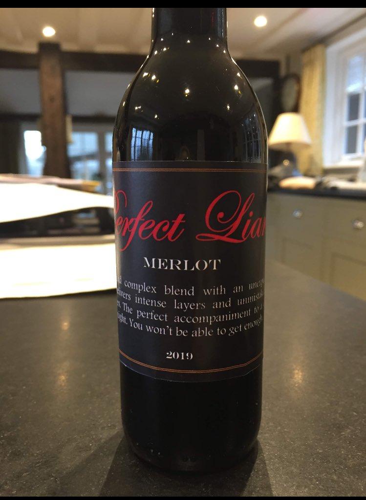 Perfect Liars wine!!