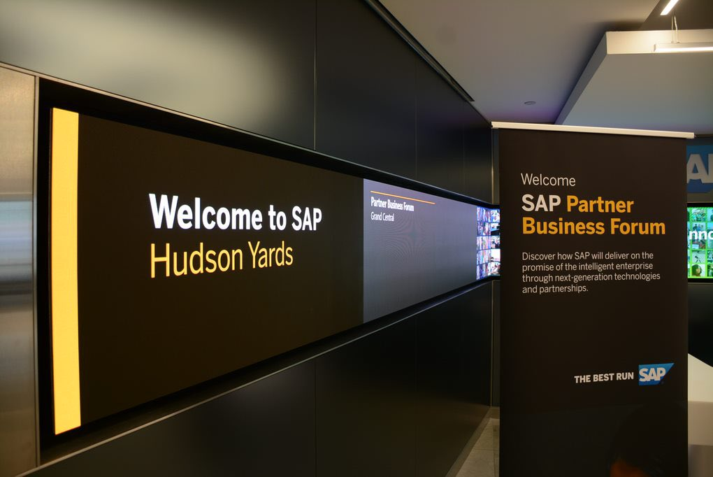 #SAPPartner Business Forum is here ! #NYC @SAPNorthAmerica @sapnews<br>http://pic.twitter.com/qcaucx1dkE