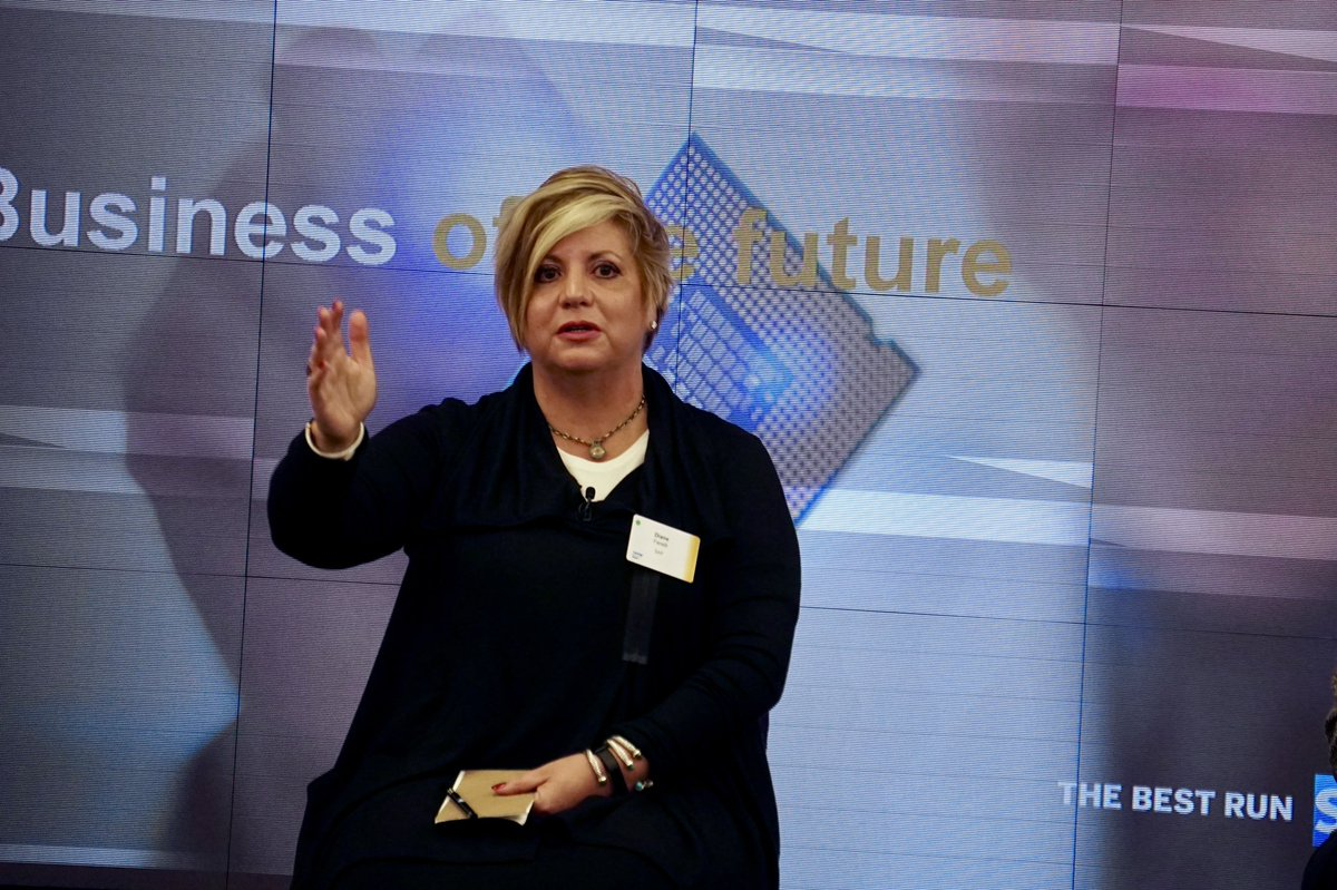 """""""There future is small, simple applications that snap into existing landscapes. You go shopping [for them] on your phone. That trend will continue in the enterprise, as they become more comfortable w/ [digital acquisition.]"""" - @Diane_Fanelli #SAPPartner #appstore #appcenter #itsm<br>http://pic.twitter.com/eYijct0YLx"""