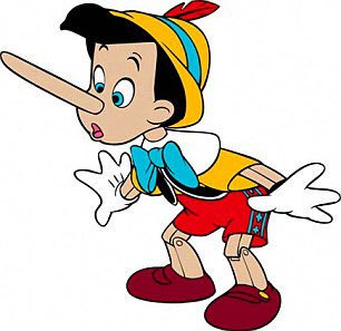 The Pinocchio syndrome it's otherwise called. ..