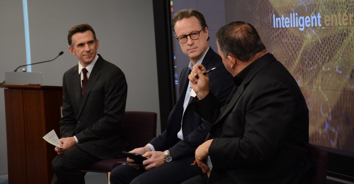 We're live from Hudson Yards talking about the #IntelligentEnterprise journey! Get details on the many ways the #SAPPartnerEcosystem is unlocking new value for customers in the #SAPPartnerEconomy here  http:// bit.ly/2EgEBz5  &nbsp;   #PartnerLive #SAPpartner <br>http://pic.twitter.com/WexPa3nxQv