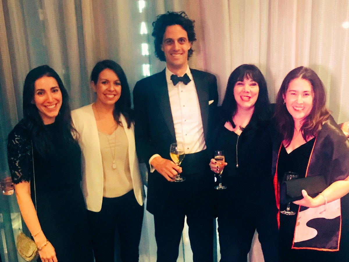 We had some fun times at last night's @AdCouncil dinner. Don't we clean up nicely? #AdProm