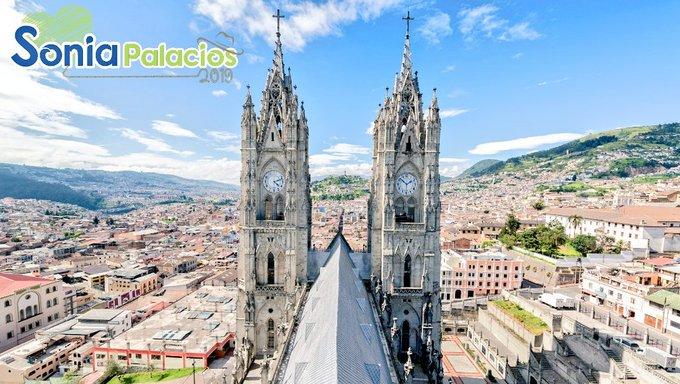 HOY| Felicito a la capital de los ecuatorianos, en sus 484 años de Fundación, Patrimonio Cultural y cuna de gente trabajadora. Que #VivaQuito Photo