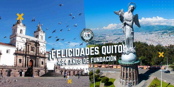 Celebramos a la capital de los ecuatorianos. ¡Viva Quito! Patrimonio Cultural de la Humanidad. #VivaQuito Photo