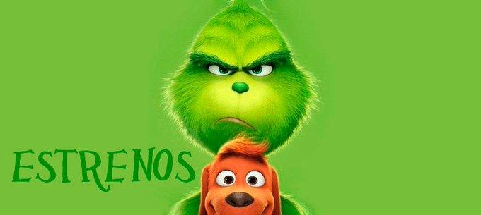 E #Grinch llega a los cines este finde, descubre que otras películas lo acompañan aquí ➡️ #Encuadres Foto