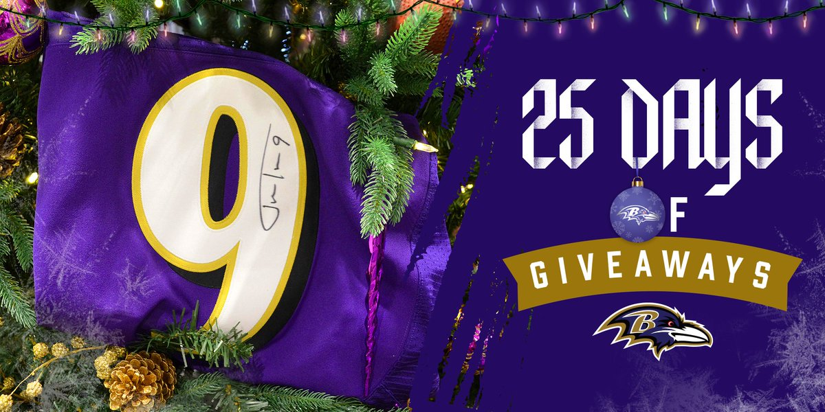 RT to win today's 🎁: A Justin Tucker autographed jersey! @jtuck9 | #ProBowlVote