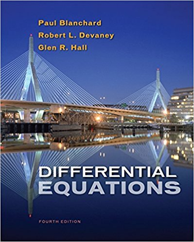 Differential equations Solution Manual Robinson