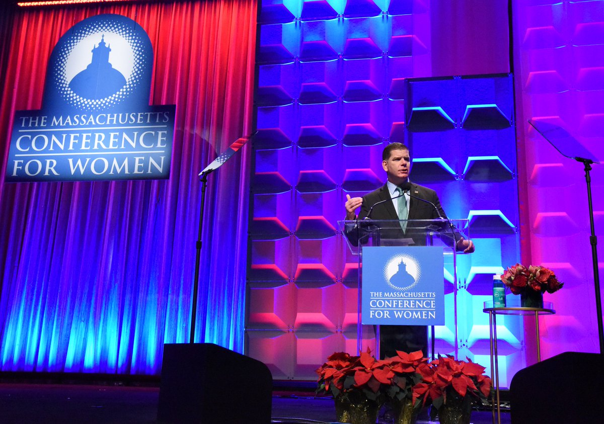 I was thrilled to join 11,000 women this morning at the @MassWomen Conference.   We need to amplify women, call out injustices, and give credit where credit is due. That's called being an ally and something I'm proud to do both as a man, and Mayor of the @CityOfBoston. #MassWomen <br>http://pic.twitter.com/FJL5g0pemB