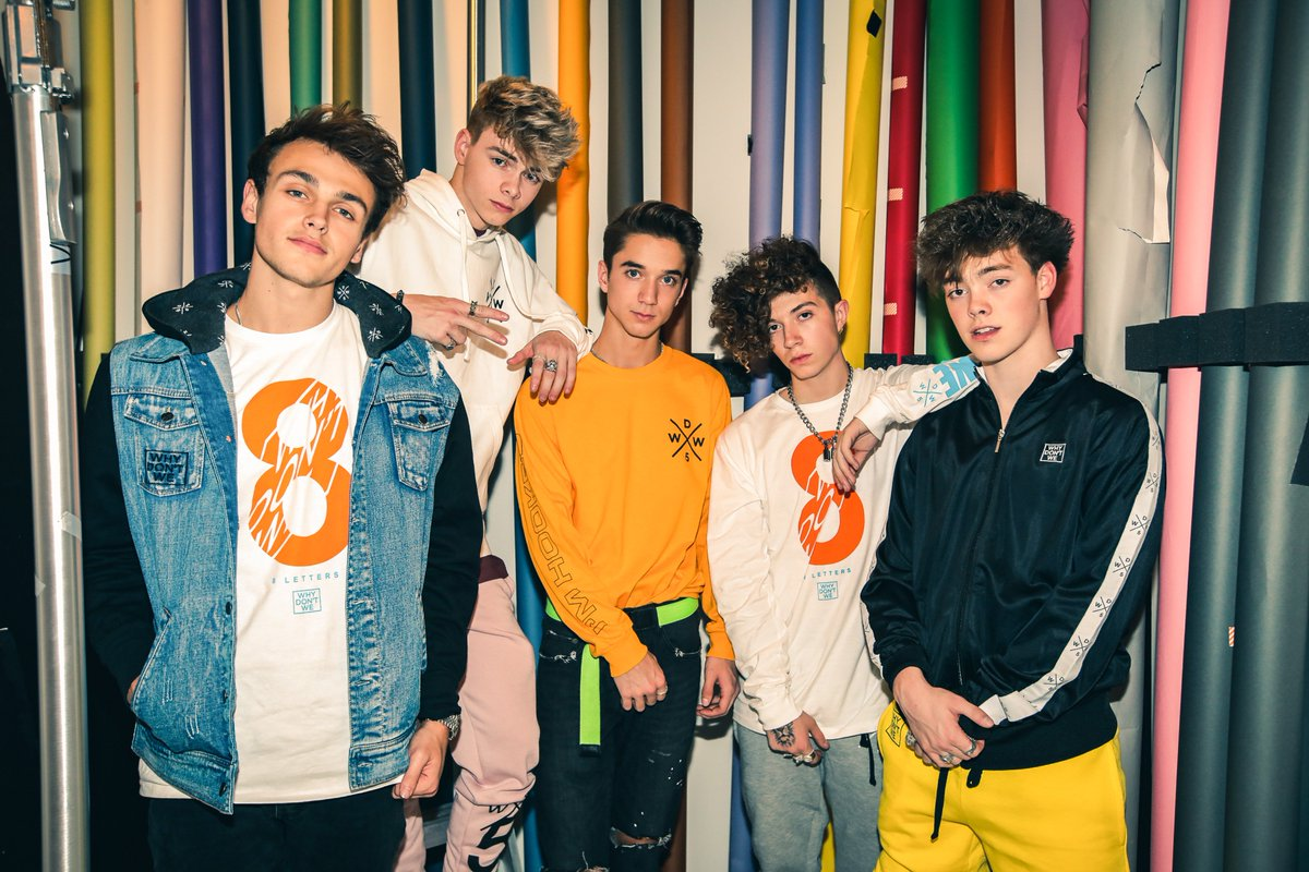 @iHeartRadio: There are few things in life that I love more than @whydontwemusic 💛 https://t.co/KzcgU3JyFO